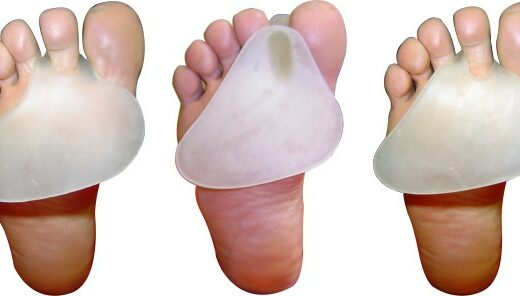 Almofada Plantar Top Gel -oval